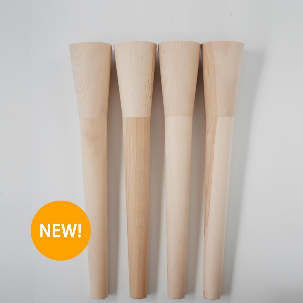 木の脚デザインI 埋込金具付