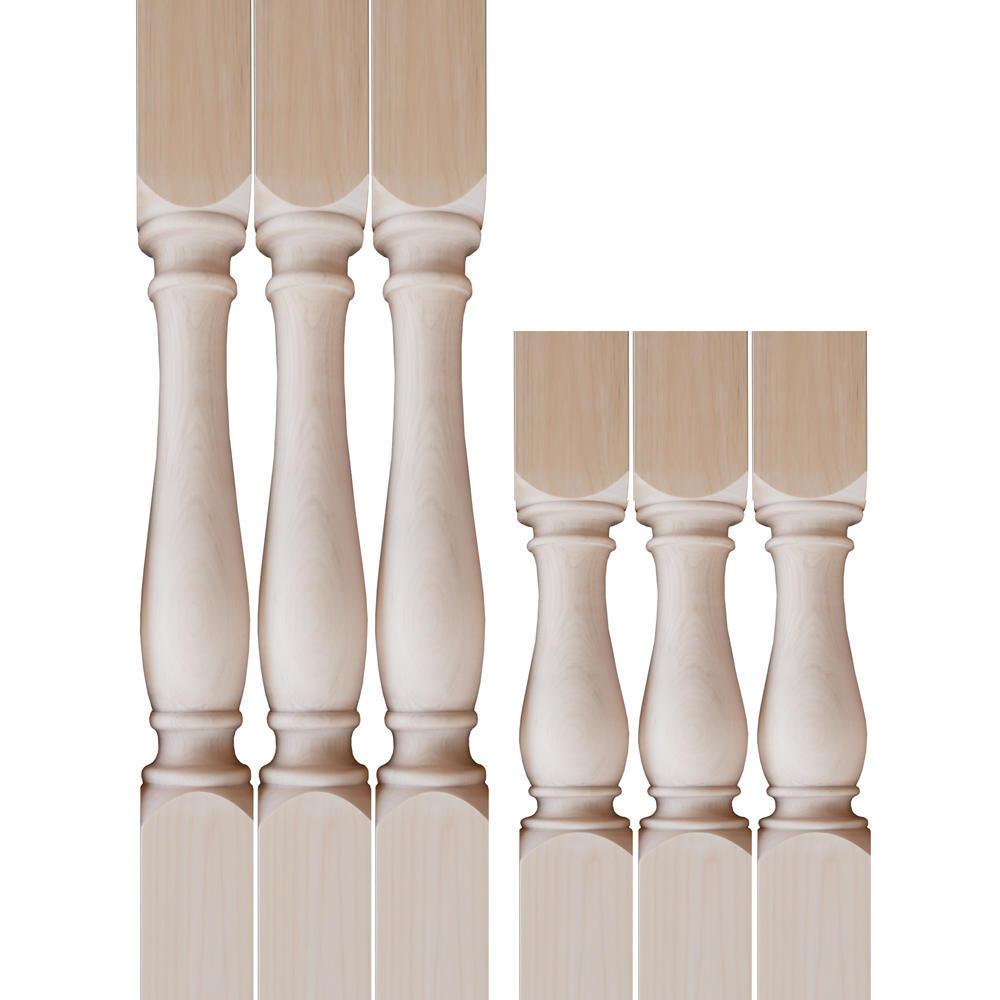 木の脚デザイン 上下取付加工用
